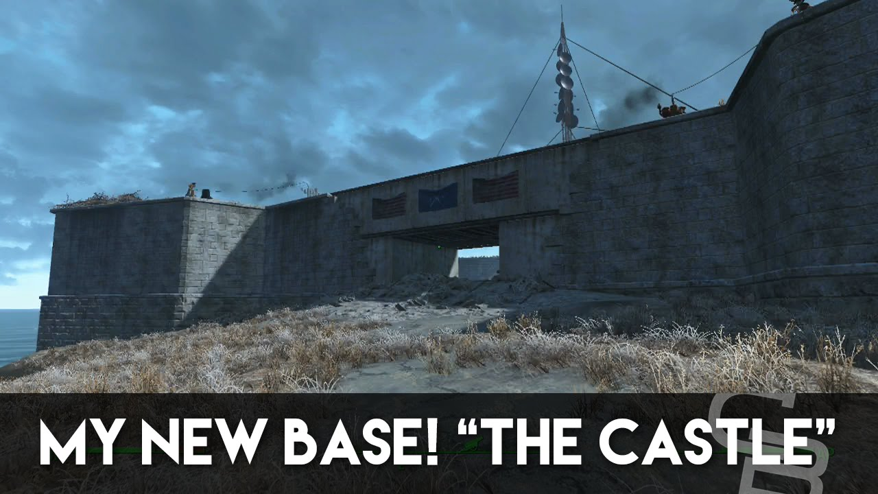 Fallout 4 the castle my new base overview some for Fallout 4 bedroom ideas