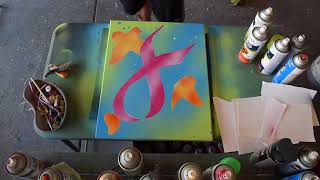 Breast Cancer Ribbon Spraypaint Art Speed Paint Mp3