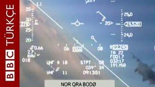 İki savaş uçağı havada burun buruna - BBC TÜRKÇE