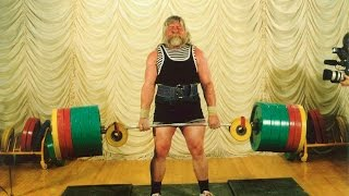 Валентин Дикуль Становая тяга 460 кг