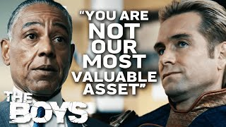 When A Meeting With Your Boss Doesn't Quite Go To Plan | The Boys | Prime Video