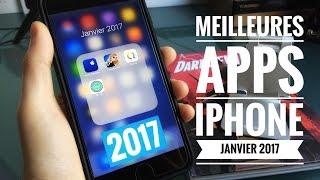Les 4 Meilleures Applications iPhone - Janvier 2017