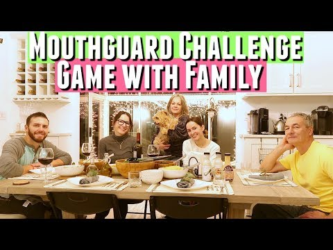 Updated Rustic House tour & DINNER WITH MY FAMILY AT MY SISTER'S HOUSE playing mouthguard challenge
