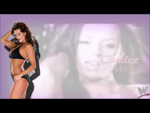 """WWE:Candice Michelle 1st Theme Song """"Don't Stop"""""""