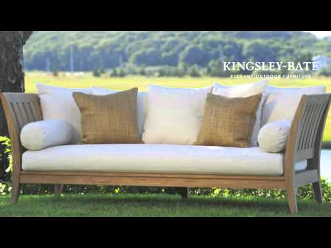Muebles para exterior de madera de teca kingsley bate for Fabrica de muebles para exterior