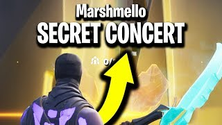 I Found Marshmello's SECRET Fortnite Creative Map