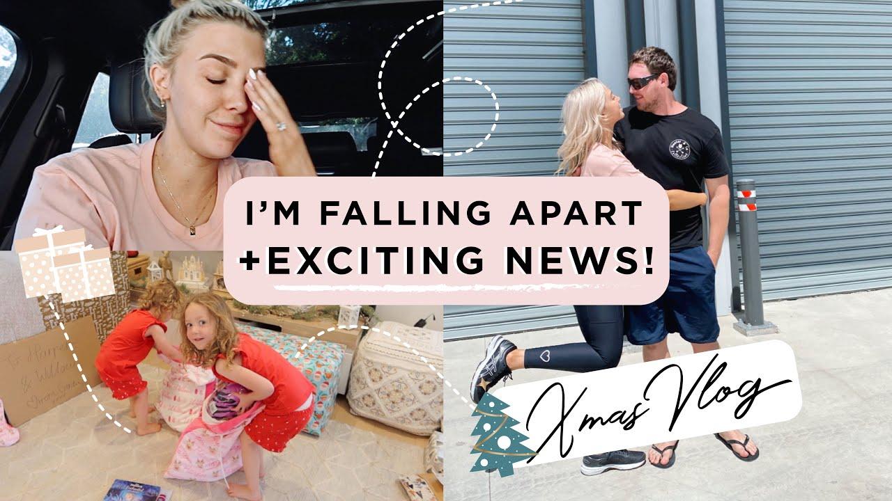 Download I'M FALLING APART😅EXCITING NEWS + XMAS VLOG