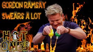 I Counted Every Swear from Gordon Ramsay's 'Hot Ones' Episode