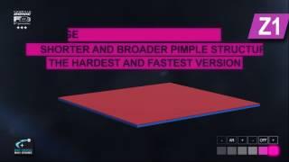 FD3テンション技術は進化を遂げ、トップシートをより薄くすることでラバ...