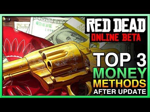 TOP 3 Red Dead Redemption 2 Online Money Method - RED DEAD ONLINE MONEY UPDATE! RDR2 Online thumbnail