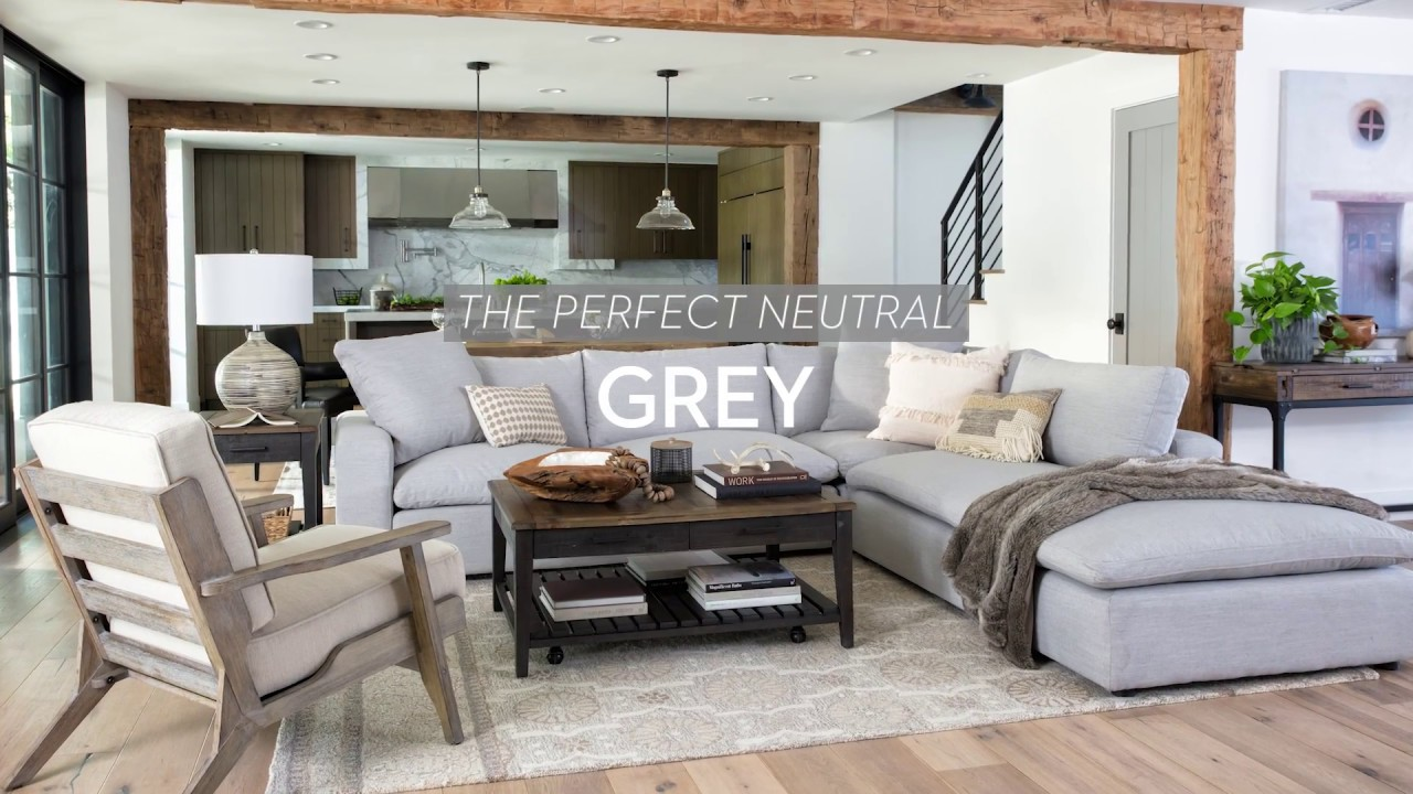 Grey Designs The Perfect Neutral Living Spaces Youtube