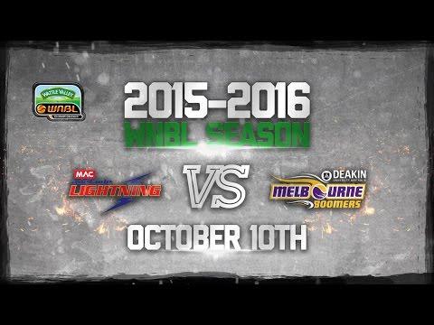 WNBL 2015/2016 Round 1 - Melbourne Boomers Vs Adelaide Lightning