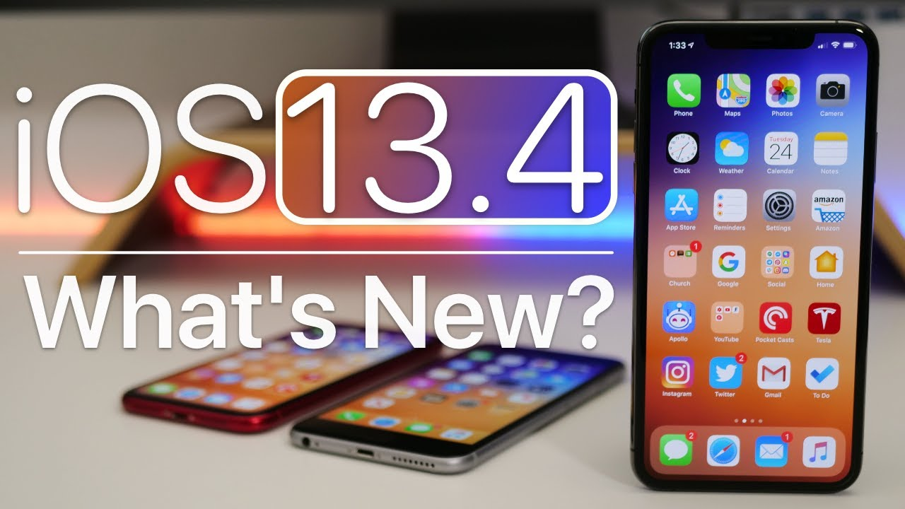 iOS 13.4 is Out! - What's New?