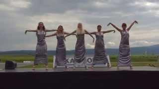Ballet Veda Junior dancing to Tasha Tah-Haan De Munde at Truck Show 2014 in Full HD