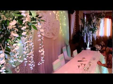 Мятно- розовая свадьба в Эдеме