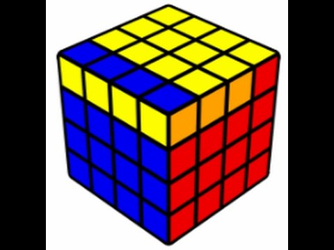 4x4 OLL Parity(easiest way)