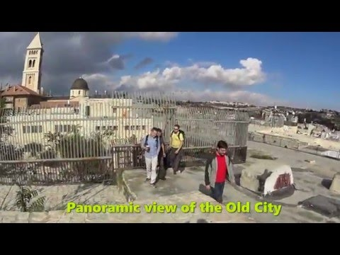 A tour of the holy sites of the Old City of Jerusalem