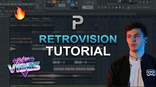 HOW TO MAKE: EDM Like RetroVision (Future Bounce) - FL Studio tutorial