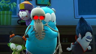 Spookiz | Skeleton loses his legs | 스푸키즈 | Funny Cartoon | Kids Cartoons | Videos for Kids