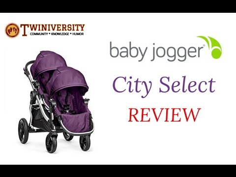 Baby Jogger City Select Twin Stroller Review