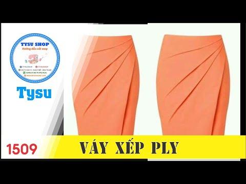 Cắt May Tysushop 1509 Chân Váy Xếp Ply - Cutting &stitching