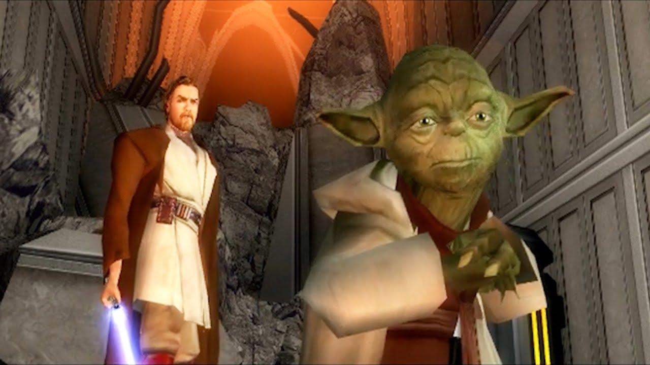 Yoda and Kenobi Raid the Jedi Temple