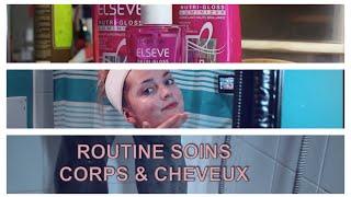 GRWM - Routine soins Corps/Visage & Cheveux 🍂 Fall Editon🍃