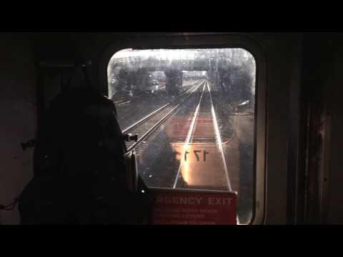 New tracks at Boston Landing station on Framingham-Worcester MBTA Commuter Rail