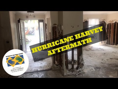 Hurricane Harvey Aftermath - Mormon Helping Hands | The Flores Takeover