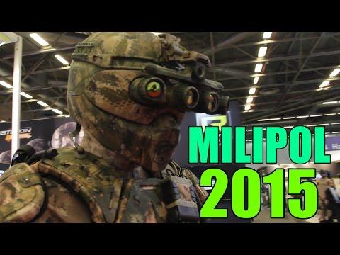 MILIPOL 2015 - DEMOS ( Protecop, Gendarmerie Nationale, MK Technology )