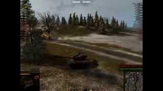супер першинг  (т26е4 Super Pershing)  показательный бой в онлайн игре  world of tanks