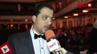 اتفرج| علي الهلباوي في حفل نقابة المنشدين بجامعة القاهرة