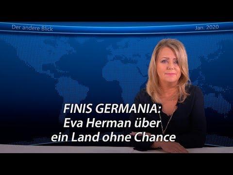 FINIS GERMANIA: Eva Herman über ein Land ohne Chance