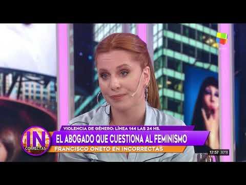 Cárpena y Kämpfer dejaron 'Incorrectas' tras un fuerte cruce con el abogado antifeminista Oneto