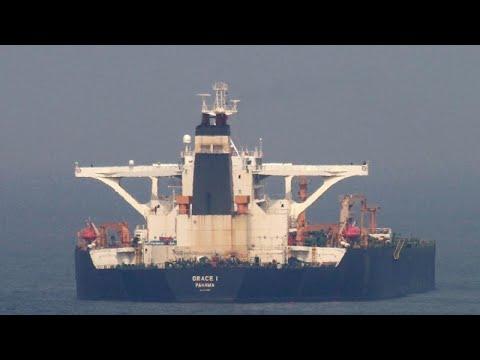 EUA tentam confiscar petroleiro iraniano em Gibraltar