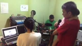 patauboys home studio: Ela and Kean Karaoke