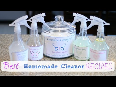 How to make the Best Homemade Cleaners!