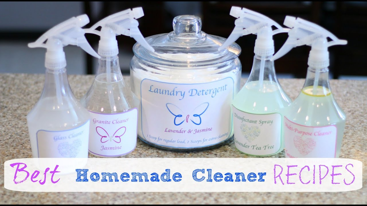 How To Make The Best Homemade Cleaners Youtube