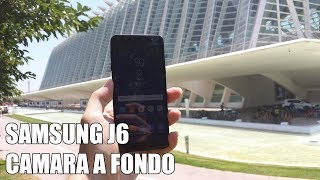 Samsung J6 Camara a Fondo