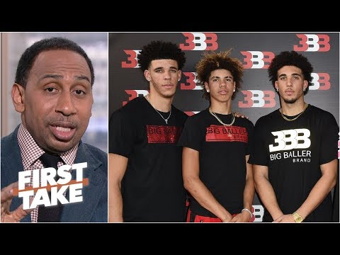 Lonzo Ball, younger brothers 'appear to be estranged' from LaVar - Stephen A. | First Take