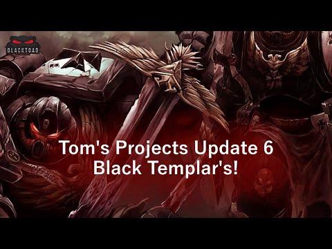Project update 6 - Black Templar Crusade Grows!