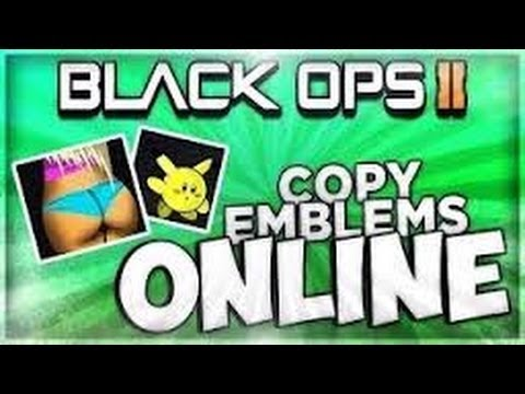 How To Copy Emblems In Black Ops 2 Ps3 Xbox Glitch From