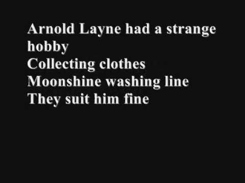 Pink Floyd - Arnold Layne (with Lyrics)