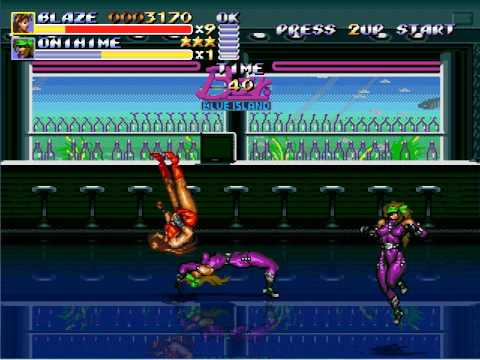 Blaze Fielding VS Onihimeu0026Yasha