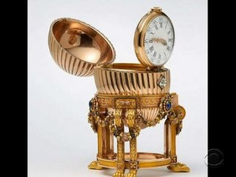 Scrap metal dealer finds Faberge Egg at antique fair