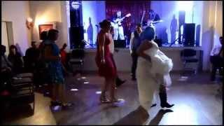 Wedding line dance Stacey and Jamie