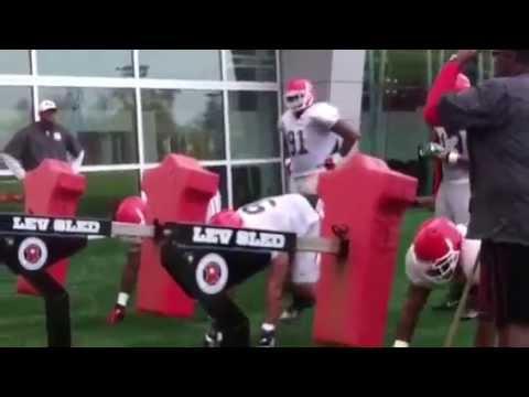 Georgia defensive line
