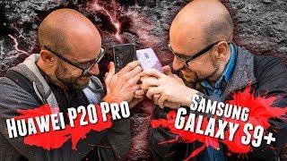 Samsung S9+ contra Huawei P20 Pro, el duelo móvil-fotográfico del año