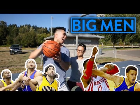 BASKETBALL STEREOTYPES:  5 TYPES OF BIG MEN YOU HATE PLAYING BASKETBALL WITH!