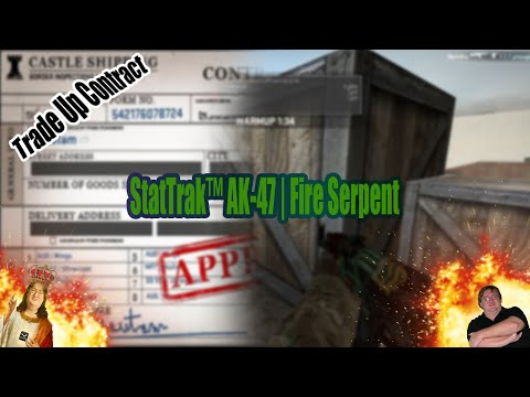 StatTrak™ AK-47 | Fire Serpent TRADE UP